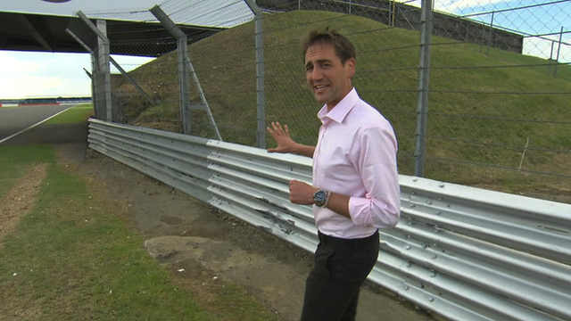 BBC F1 pit-lane reporter Tom Clarkson explains why the British Grand Prix was red flagged for an hour