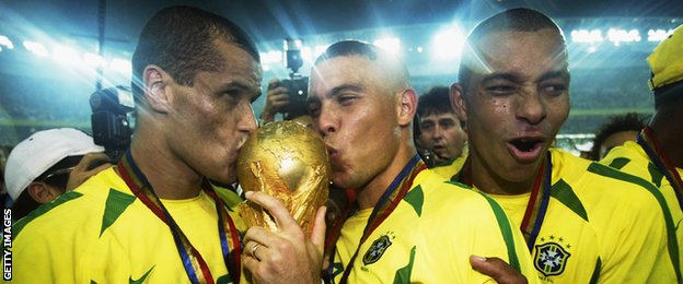 Brazil last won the World Cup in 2002, with the likes of Ronaldo and Rivaldo in their side