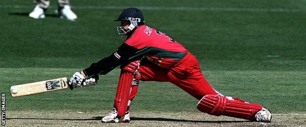 Former Zimbabwe batsman Andy Flower