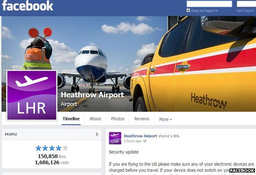 Heathrow Facebook