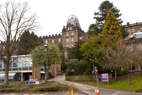 Derbyshire County Hall Matlock