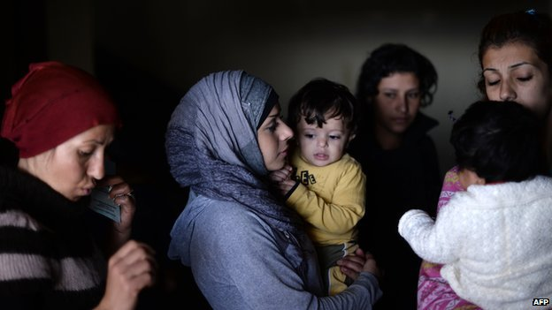 Syrian refugees in Bulgaria - file pic