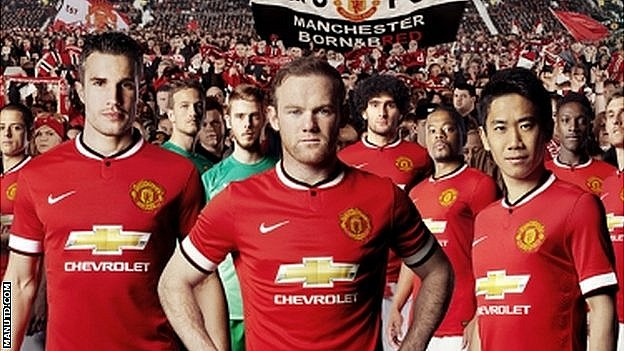 76095839 utd Manchester United Releases New Home Jersey For 2014 2015 Season (See Photo)