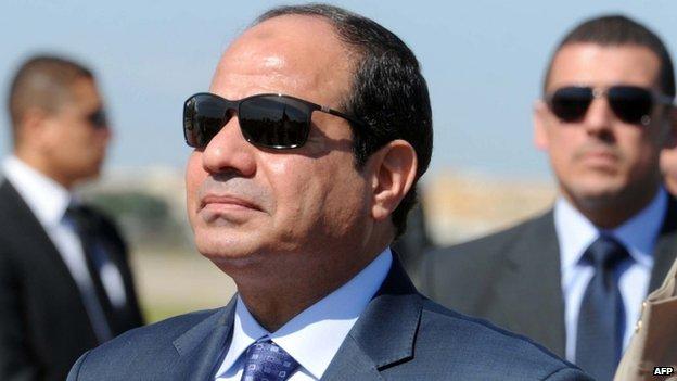 Abdul Fattah al-Sisi (25 June 2014)