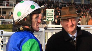 AP McCoy and Martin Pipe in 2007