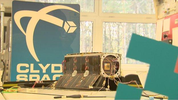UKube-1 satellite