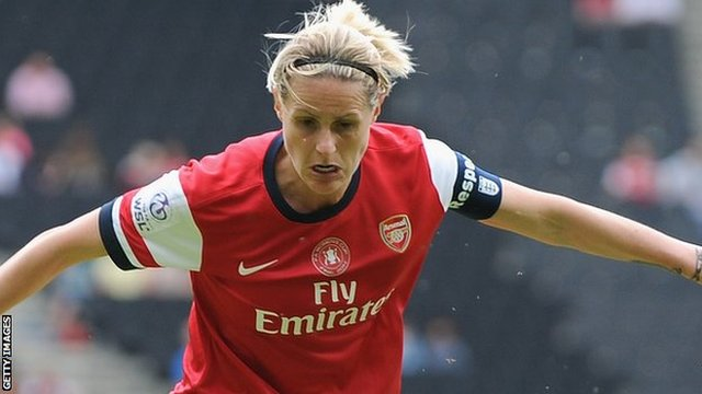 Kelly Smith scored a penalty and a corner against Chelsea