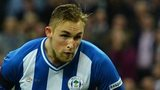 Jack Collison in Wigan action