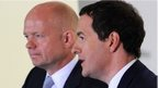 William Hague & George Osborne