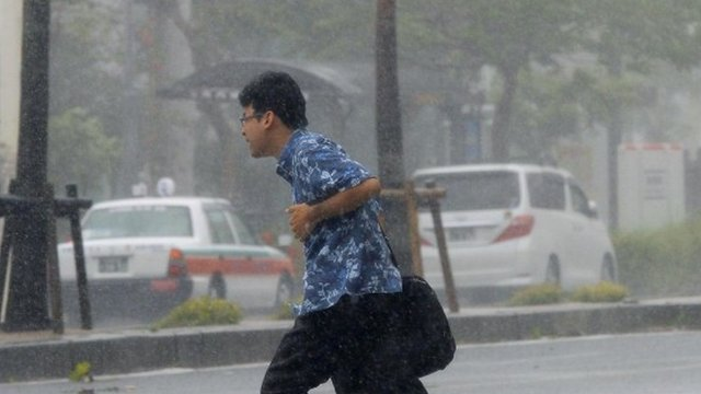 Japan braced for Typhoon Neoguri