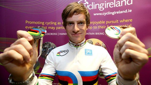 NI cyclist Martyn Irvine