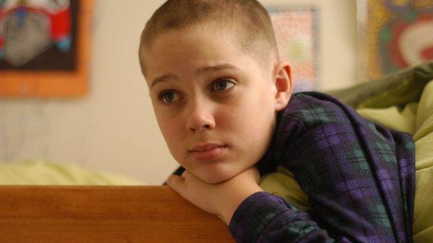 Mason after haircut