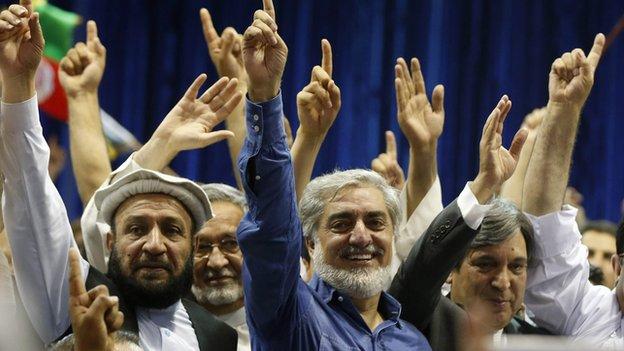 Abdullah Abdullah in Kabul