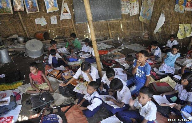 Bihar primary school