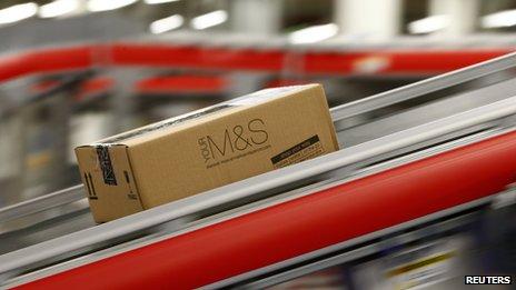 M&S parcel