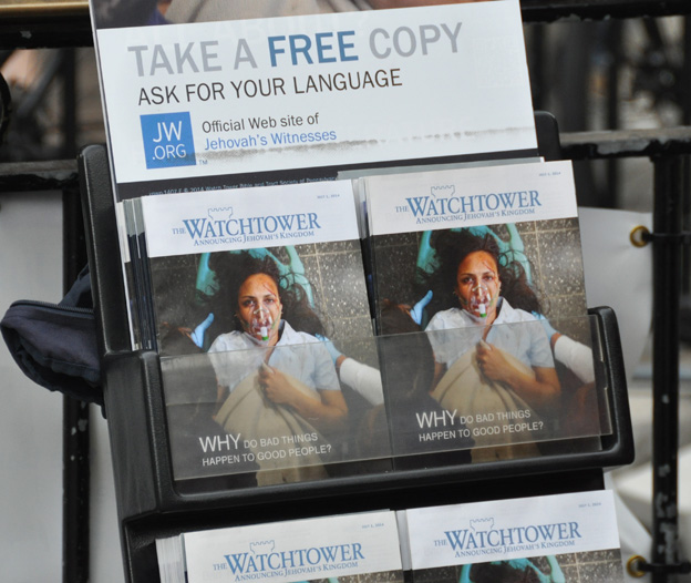 Les brochures des Témoins de Jéhovah