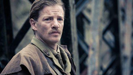 Lieutenant Fred Steele (played by Jefferson Hall)