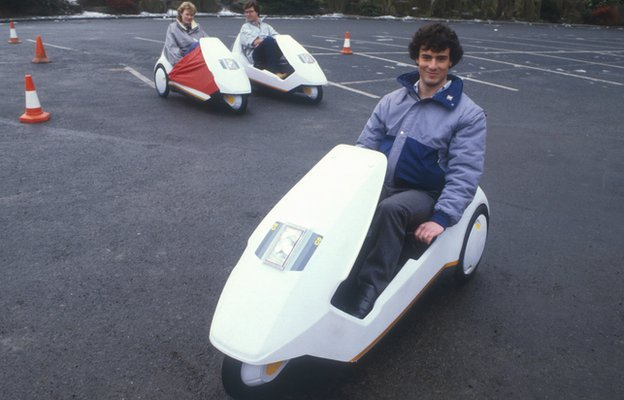 Sinclair C5 vehicles