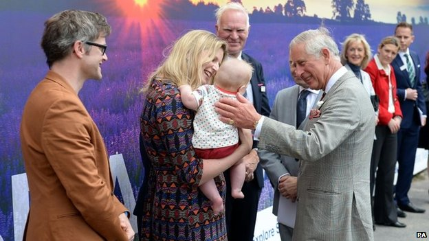 Prince of Wales visits Somerset