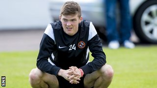 Dundee United defender Blair Spittal