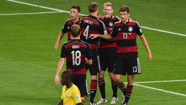 Німеччина розгромила Бразилію у півфіналі ЧС, забивши 7 голів