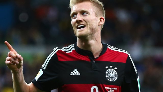 Andre Schurrle scores Germany's seventh