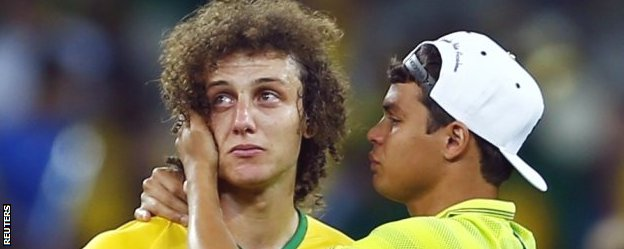 David Luiz and Thiago Silva