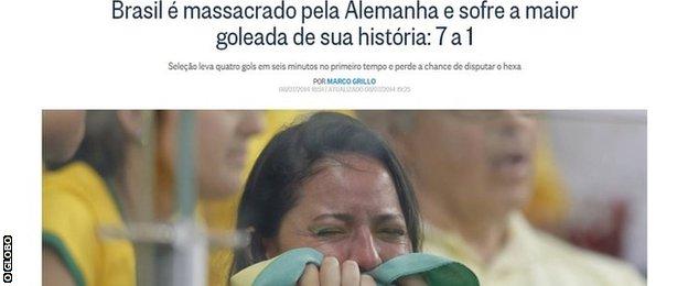 Brazil newspaper