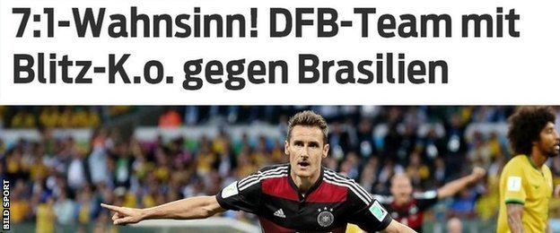 Bild Sport report