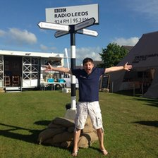 radio leeds at great yorkshire show