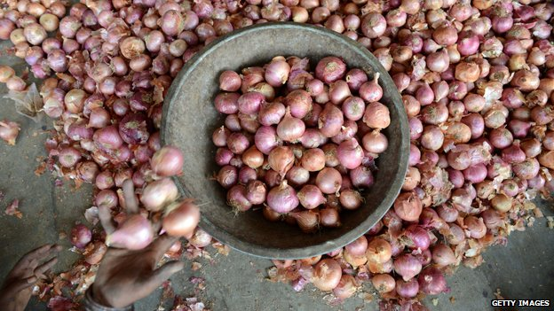 Onions in India