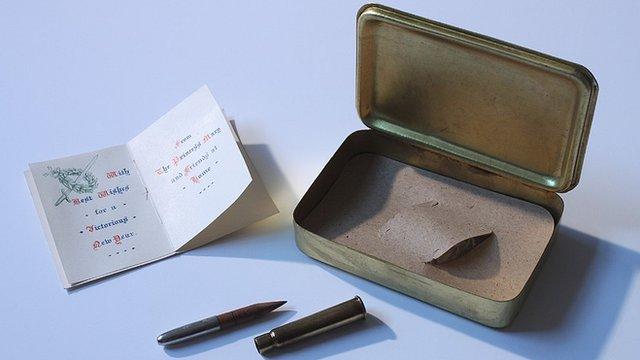 Princess Mary 1915 gift box