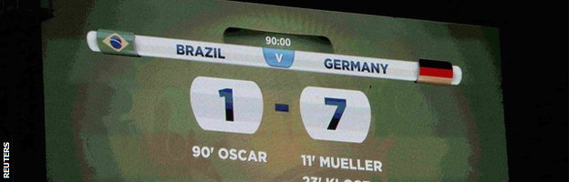 Brazil 1-7 Germany