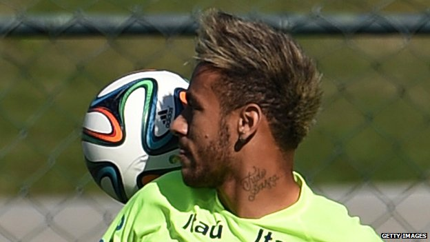 10 World Cup Stars Tattoos Decoded Bbc News