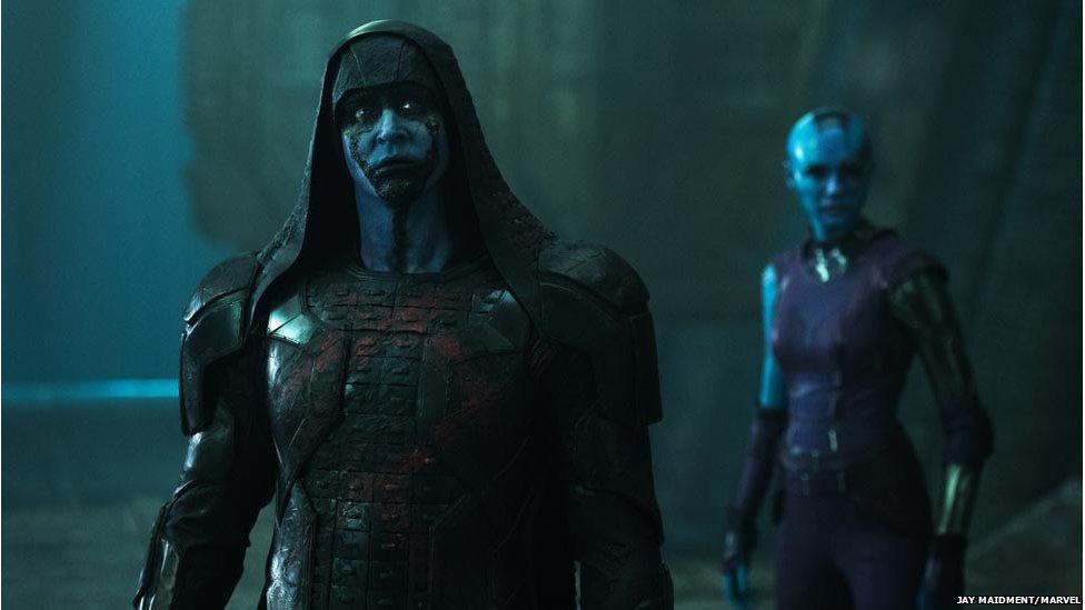 Gillan S Villain Scots Actress As Guardians Nebula Bbc