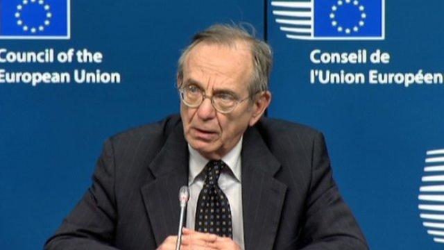 Pier Padoan, Italian Finance Minister