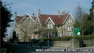 West Oxfordshire council offices