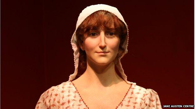 Jane Austen waxwork