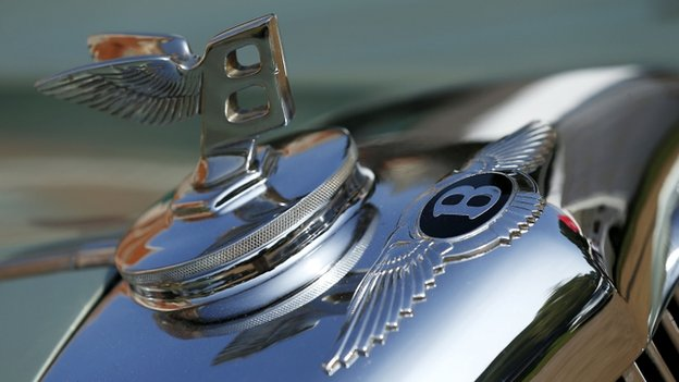 Bentley insignia