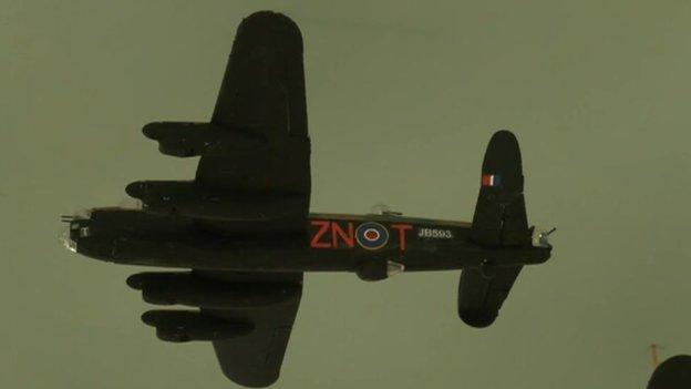 Lancaster JB593 ZN-T