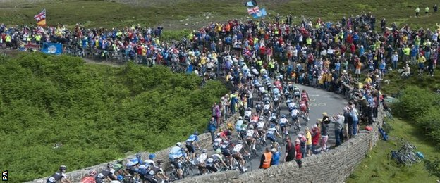 Tour de France in Yorkshire