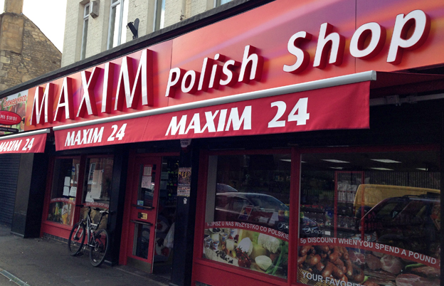 A Polish shop