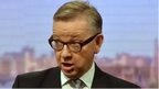 Michael Gove on Marr