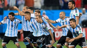 Argentina beat the Netherlands on penalties