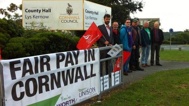 Council strike