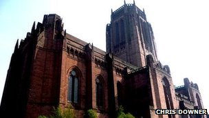 Liverpool Anglican Cathedral courtesy of Chris Downer