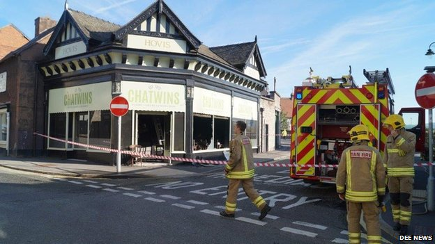 Bakery fire