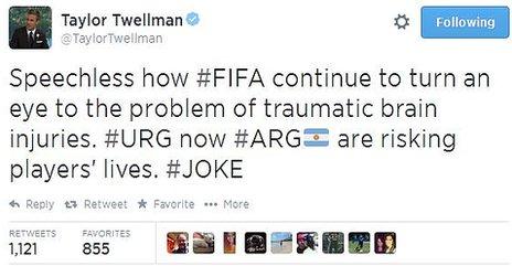 Taylor Twellman tweet