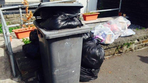Rubbish at Neath Port Talbot
