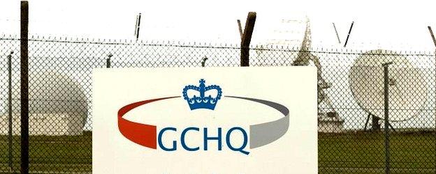 GCHQ satellites